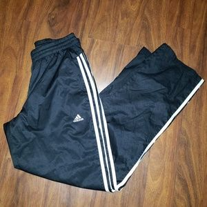 EUC Adidas Windbreaker Pants